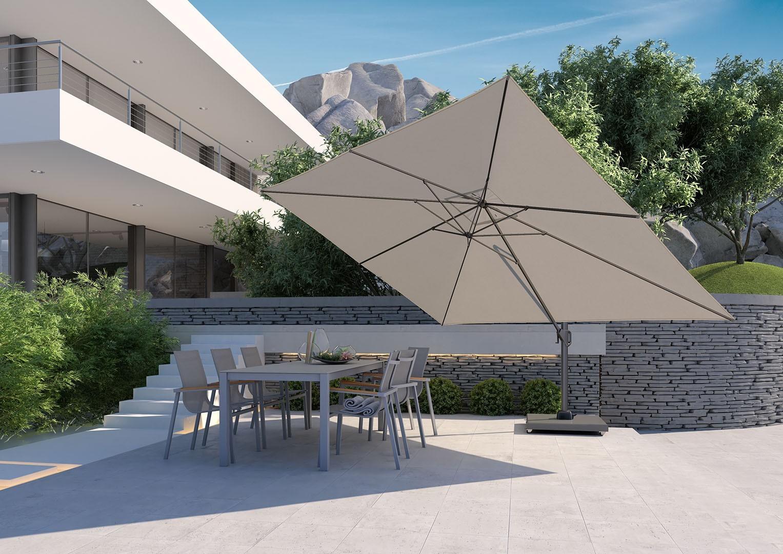 5685e5bd4 Záhradný slnečník Challenger T1 Premium 4 x 3 m - Bamboo.sk