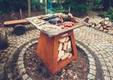 Záhradné ohnisko/gril QUADRO STANDARD CORTEN