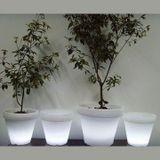 Záhradné svietidlo LED kvetináč ELEFANTE 62