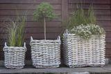 Záhradný kôš NARBONNE – prírodný ratan