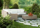 Záhradná rohová sedacia súprava MILANO - malá