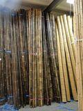 Bambusová tyč tmavohnedá