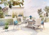 Záhradný ratanový stôl RONDO Ø 180 cm