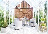 Záhradný ratanový stôl FILIP Ø 90 cm