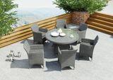 Záhradný ratanový stôl RONDO Ø 130 cm
