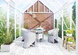 Záhradný ratanový kvetináč Rubic 80 cm