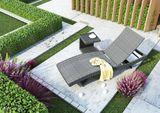 Záhradný ratanový stolík ROMEO