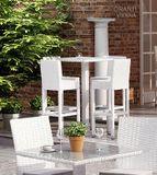 Záhradný barovy stôl QUADRO 60x60x110 cm