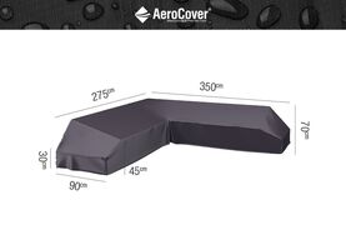 Ochranný kryt na záhradný nábytok 375x300x90xH30/45/70