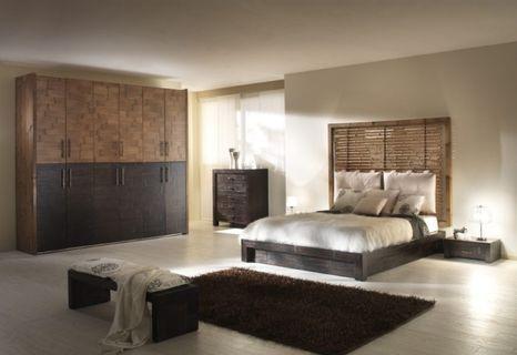 Bambusová posteľ BANDUNG