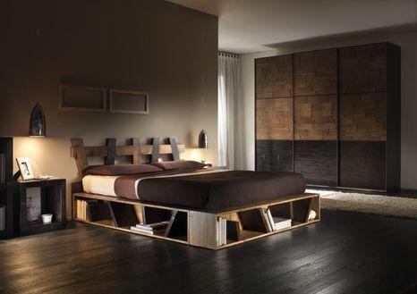 Bambusová posteľ CROSS