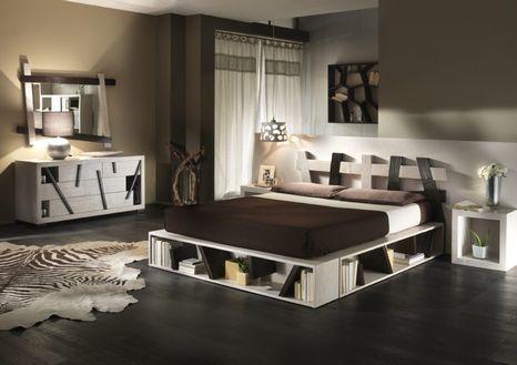 Bambusová posteľ CROSS W