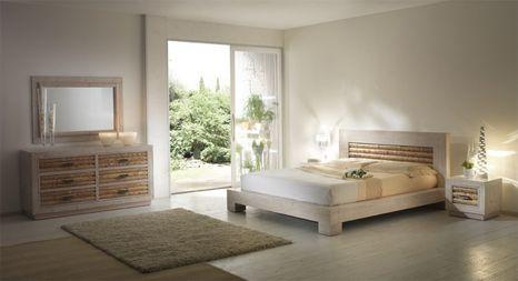 Bambusová posteľ RUMBA