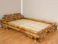 Bambusová posteľ SUMBA-BR