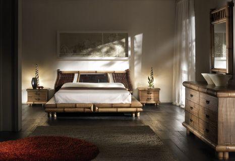 Bambusová posteľ TSU-SURYA