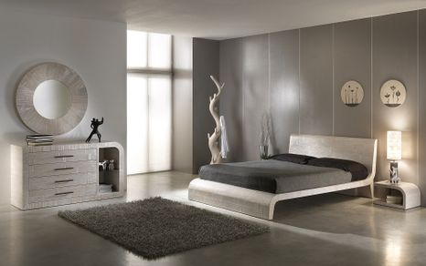 Bambusová posteľ WAWE