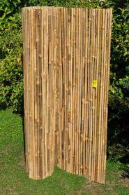 Rohož na plot prevliekaný bambus