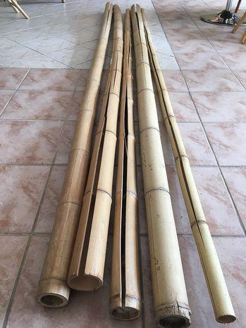 Bambusové tyče hrubé - rôzne rozmery - II.trieda