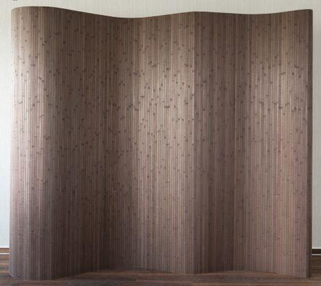 Bambusový paraván hnedý HS 301