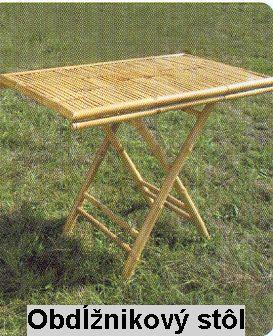 Bambusový stôl MB-14
