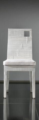Jedálenská stolička z lisovaného bambusu HOLE