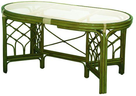 Jedálenský ratanový stôl 02-02A