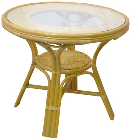 Jedálenský ratanový stôl 02 09A