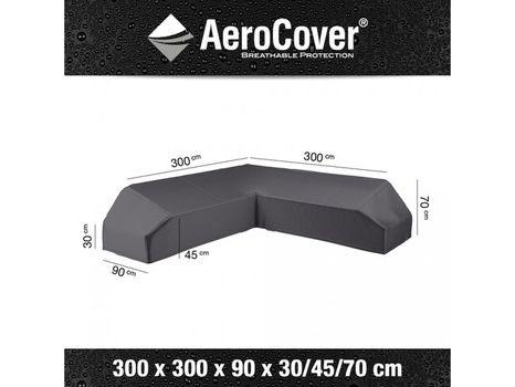 Ochranný kryt na záhradný nábytok 300x300x90xH30/45/70