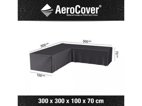 Ochranný kryt na záhradný nábytok L 300x300x100xH70