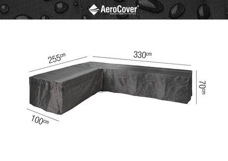 Ochranný kryt na záhradný nábytok L 330x255x100xH70 Lavy