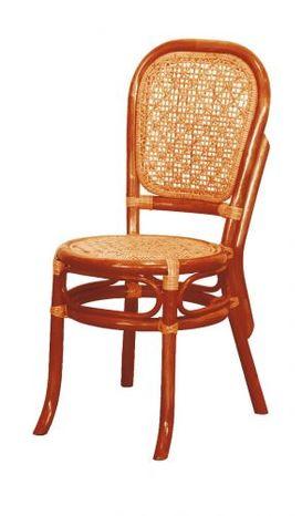 Ratanová jedálenská stolička 04-18