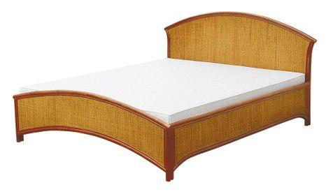 Ratanová manželská posteľ 11-02-160