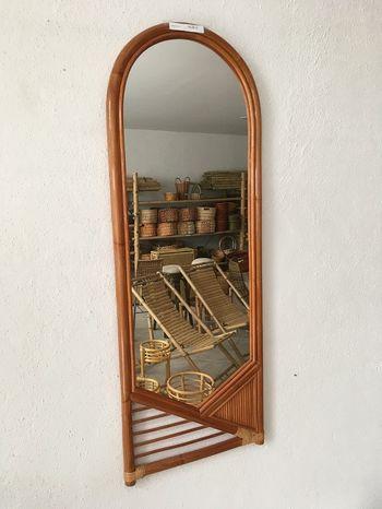 Ratanové zrkadlo 20-12