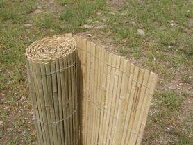 Rohož na plot bambus štiepaný SB