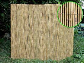 Rohož na plot opletaný bambus WO