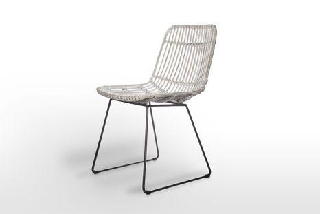 Záhradná ratanová stolička DINAN