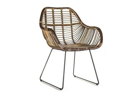 Záhradná ratanová stolička LAVAL
