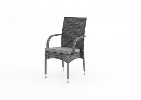 Záhradná ratanová stolička TRAMONTO