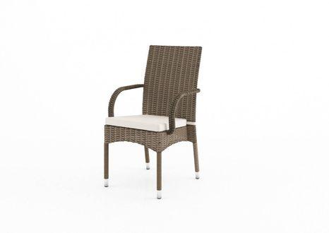 Záhradná stolička Tramonto z umelého ratanu