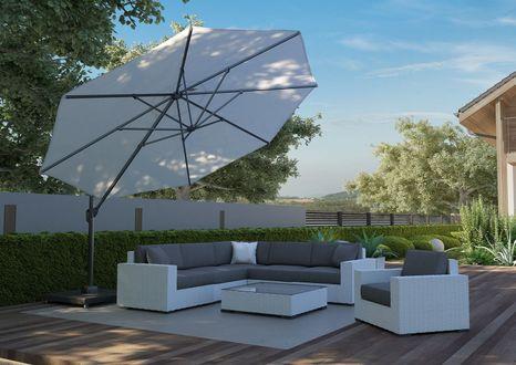 Záhradný slnečník Challenger T2 Premium ø3,5 m