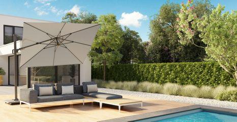Záhradný slnečník Challenger T2 Premium 3x3m
