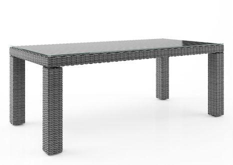 Záhradný ratanový stôl RAPALLO 220 cm