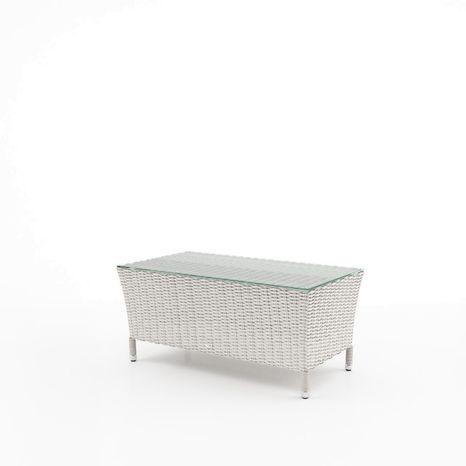 Záhradný stolík Firenze z umelého ratanu
