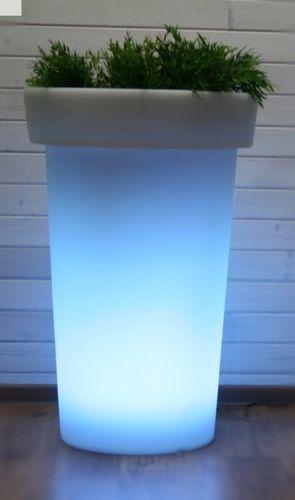 Záhradné svietidlo LED kvetináč JIRAFE