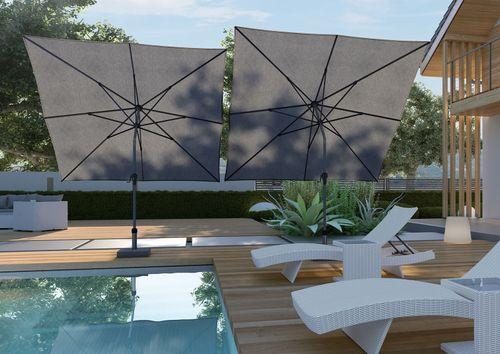 Záhradný slnečník RIVA 3X2 M
