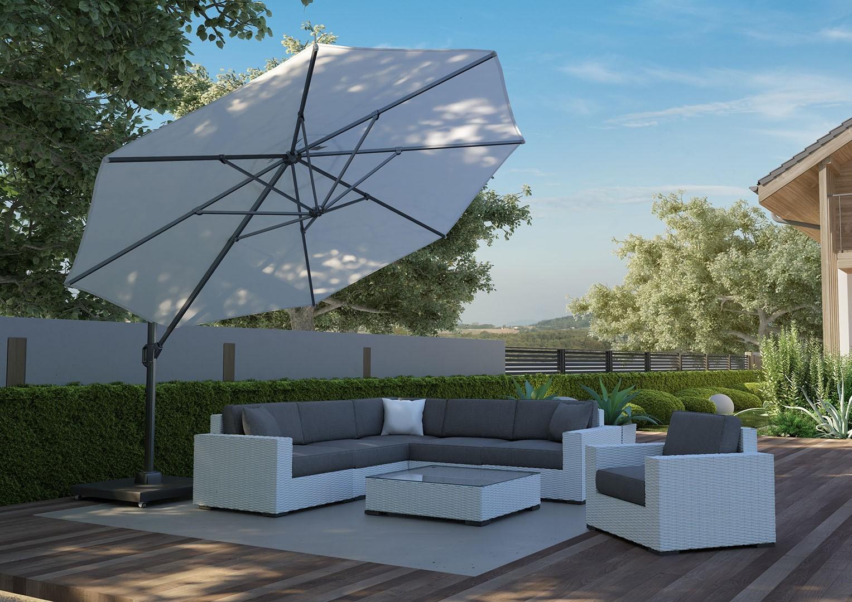 5cac70265 Záhradný slnečník Challenger T1 Premium ø3,5 m - Bamboo.sk